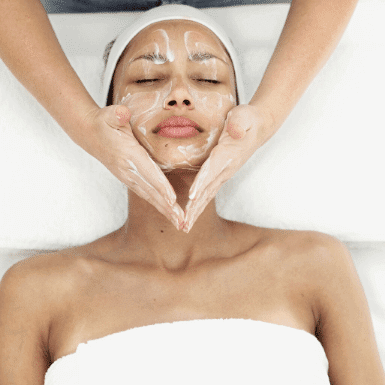 Relax massage and facial